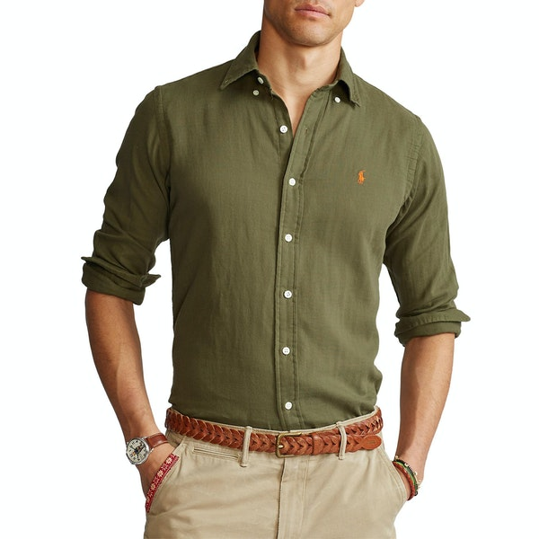 Polo Ralph Lauren Long Sleeve Sport Męskie Koszula