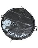 Simply Scuba Classic Change Mats - Black