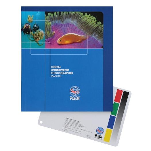 PADI Digital Underwater Photographer Pack Manual