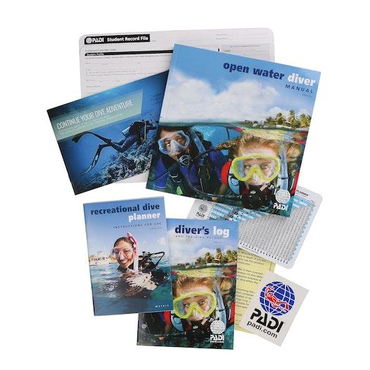 PADI Open Water Diver Crew Pack Manual