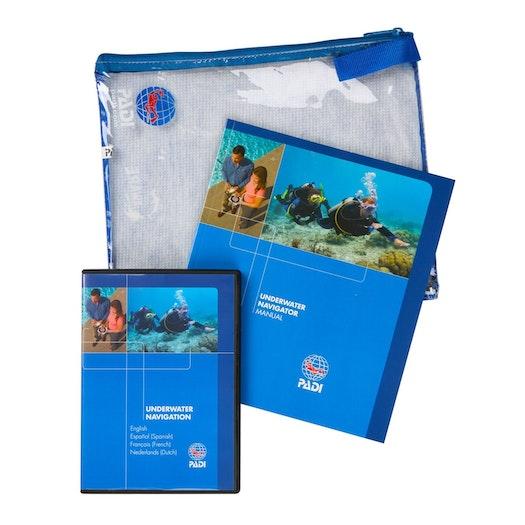 PADI Underwater Navigator Crewpack Manual