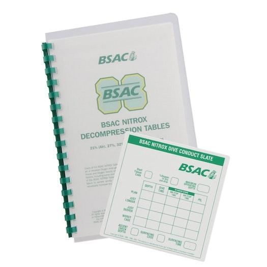 BSAC Nitrox Decompression Tables Manual