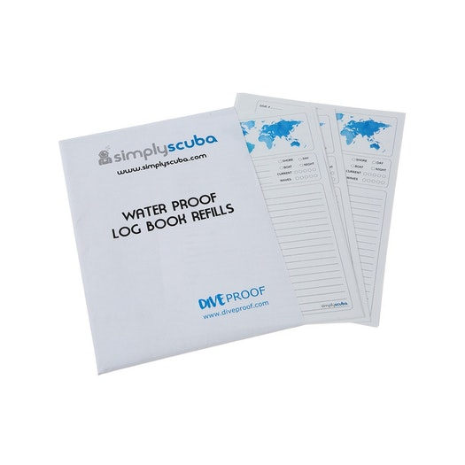 DiveProof BSAC Refill Pages Log Book