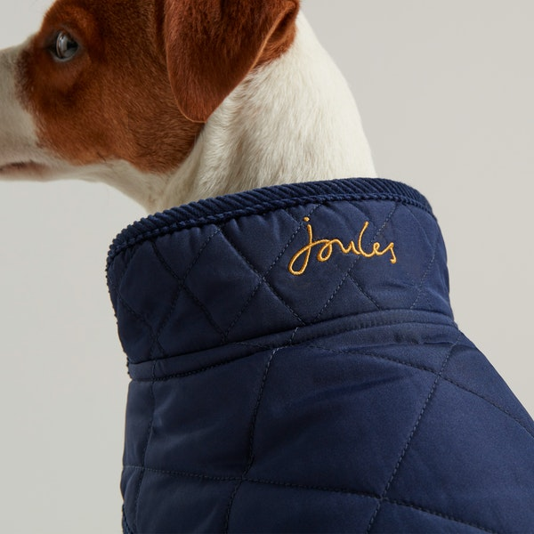 Chaqueta para perro Joules Quilted