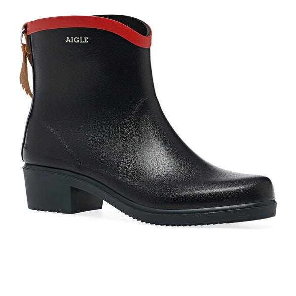 Aigle Miss Juliette Bottillon Heeled Ankle Women's Wellington Boots