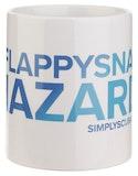 Simply Scuba Flappy Snag Hazard Mug - White