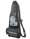 Dive Bag Simply Scuba Snorkelling Pack - Black