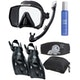 Simply Scuba Tusa Freedom Travel Snorkelling Set Package