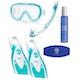 Simply Scuba Tusa Kleio Snorkelling Set Package