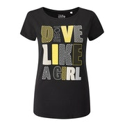 Fourth Element Dive Like a Girl Short Sleeve T-Shirt