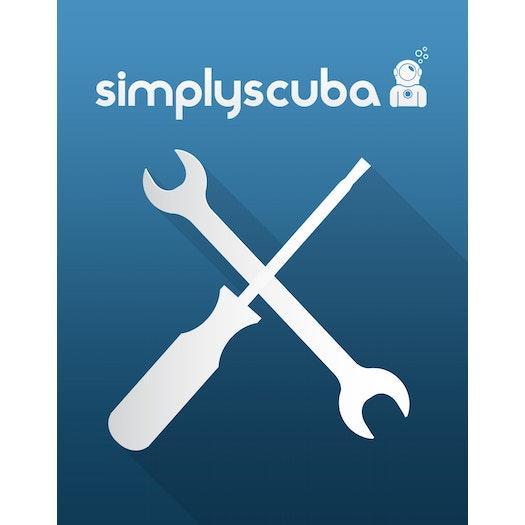 Simply Scuba Suunto Battery Change Labour Charge