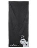 Simply Scuba Microfibre Trek Towel - Black