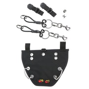 Dive Rite Bungees and Buttplate