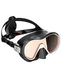 Diving Mask Aqualung Plazma AG - Black White ~ Amber Glass