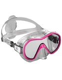 Diving Mask Aqualung Plazma - Clear Pink