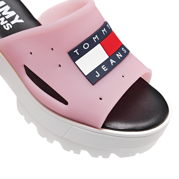 Tommy Jeans Heritage Chunky Heel Women's Sandals