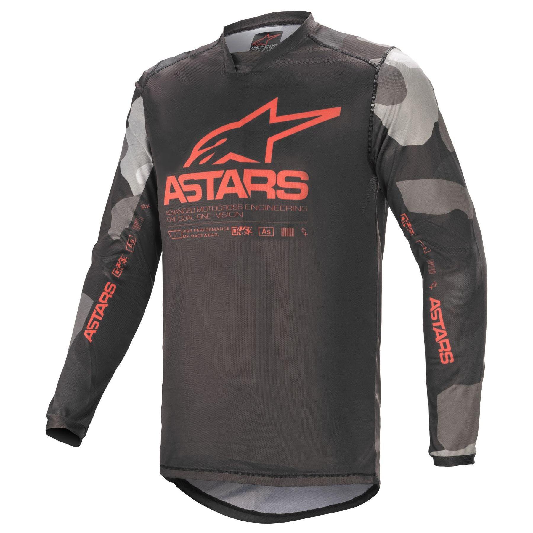 Alpinestars Pantal/ón Motocross 2018/Techstar Screamer blu-giallo-rosso 36/Cintura = Eu 52, azul