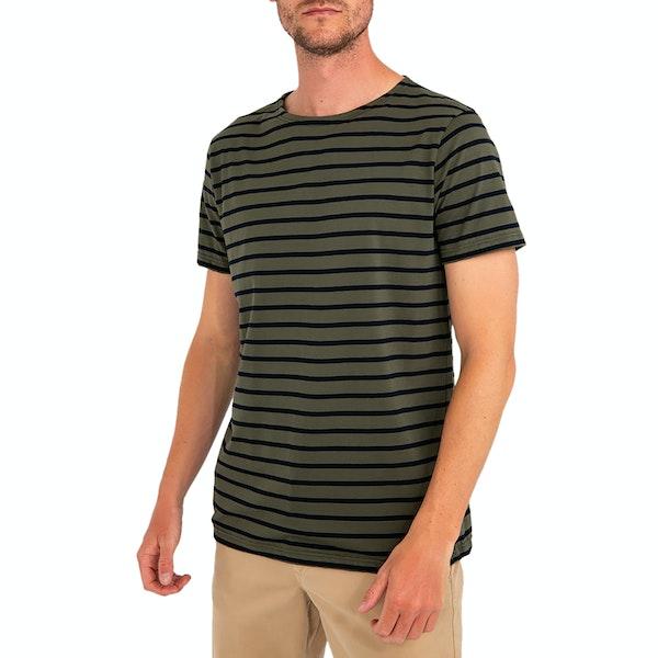 Armor Lux Marinière Herren Kurzarm-T-Shirt