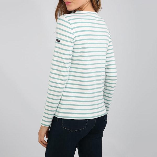 Camiseta de manga larga Mujer Armor Lux Marinière lesconil