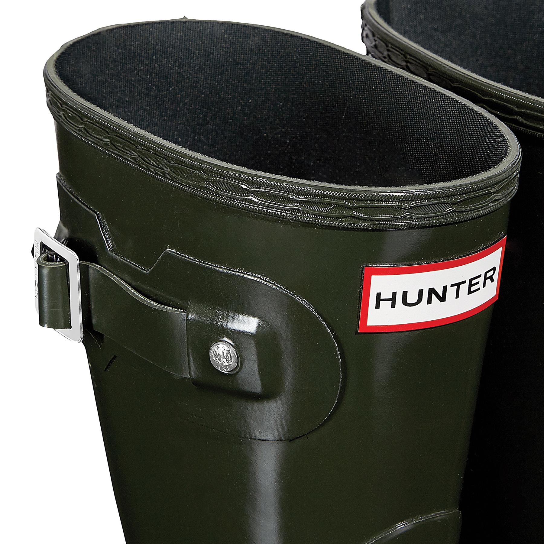 Hunter Original Short Gloss , Gummistövlar Dam