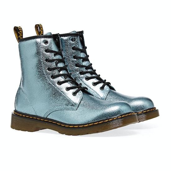 Dr Martens 1460 Crinkle Metallic Kids Boots