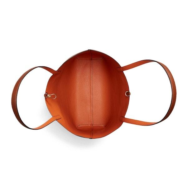 Lauren Ralph Lauren Reversible Faux Leather Tote Women's Shopper Bag