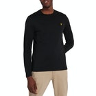 T-Shirt de Manga Comprida Homen Lyle & Scott Crew Neck