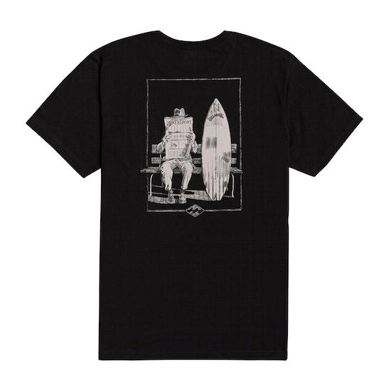 T-Shirt de Manga Curta Billabong Surf Report