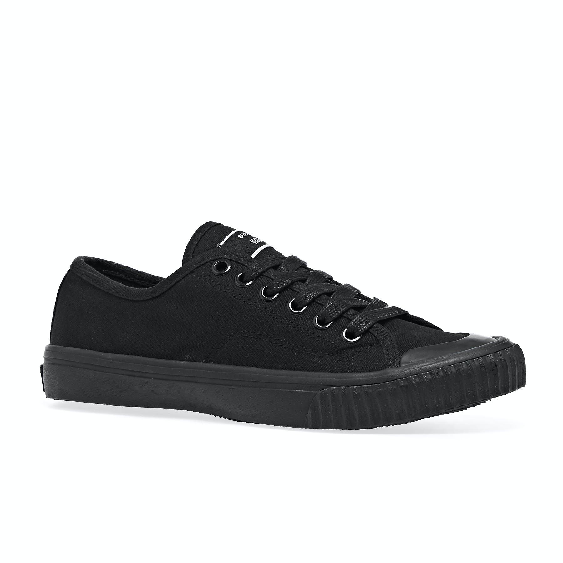 Superdry Low Pro 2.0 Femme Chaussures Chaussures-Noir Toutes Tailles