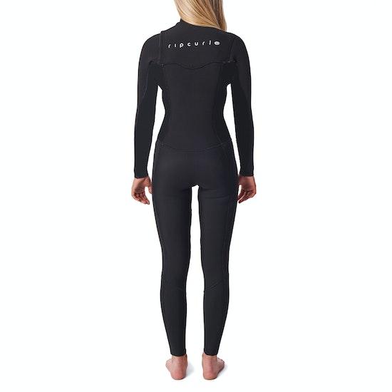 Rip Curl Dawn Patrol 5/3 Hooded Centre Zip Womens Wetsuit