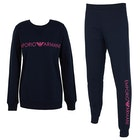 Emporio Armani Long Sleeved Sweater + Pants Women's Loungewear Tops