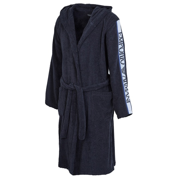 Dressing Gown Hombre Emporio Armani Hooded Bathrobe