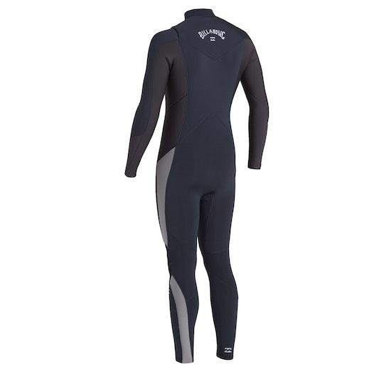 Combinaison de Surf Billabong 5/4 Absolute Chest Zip Gbs
