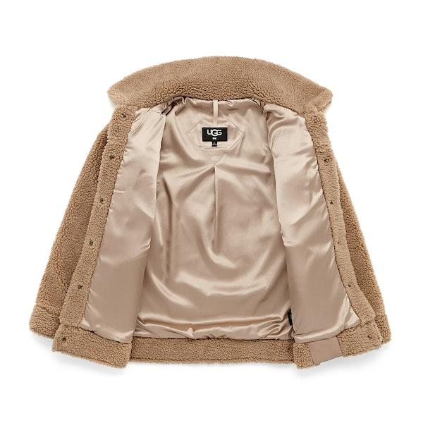 UGG Frankie Sherpa Trucker Women's Jacket