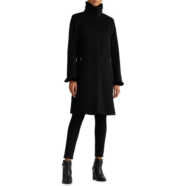 Lauren Ralph Lauren Slm Fit Wool Women's Jacket