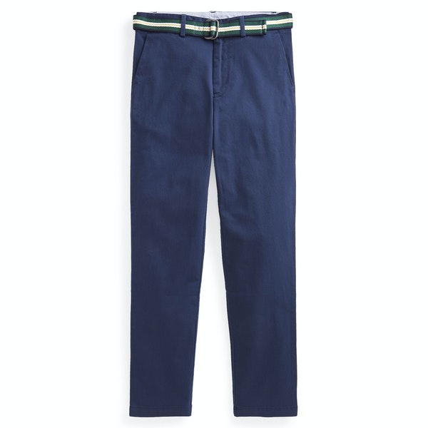 Polo Ralph Lauren Belted Stretch Skinny Boy's Chino Pant