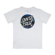 T-Shirt de Manga Curta Santa Cruz Youth Dot Splatter