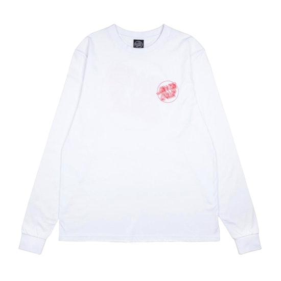 T-Shirt à Manche Longue Santa Cruz Linear Dot