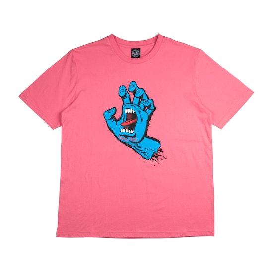 Santa Cruz Screaming Hand Womens Short Sleeve T-Shirt