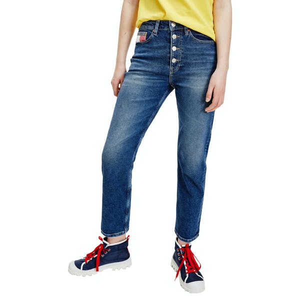 Tommy Jeans Harper Straight Fit High Rise Women S Jeans Save Pf Mid Blue Comfort Country Attire Israel Enjoy free shipping on all us orders of $75 or more. country attire