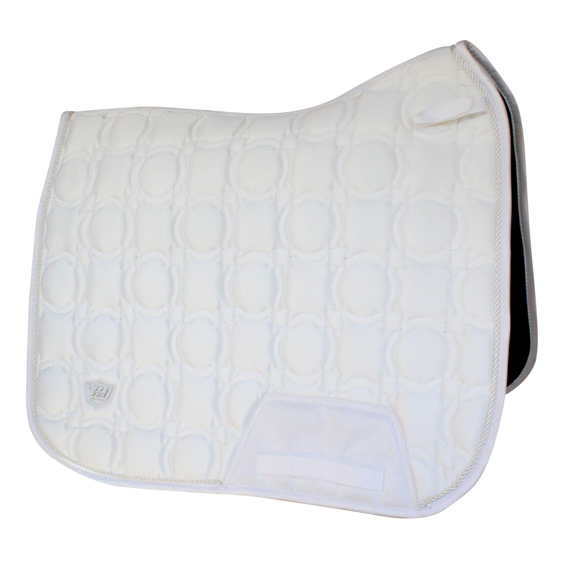 White All Sizes Woof Wear Dressage Saddlery Saddle Pad