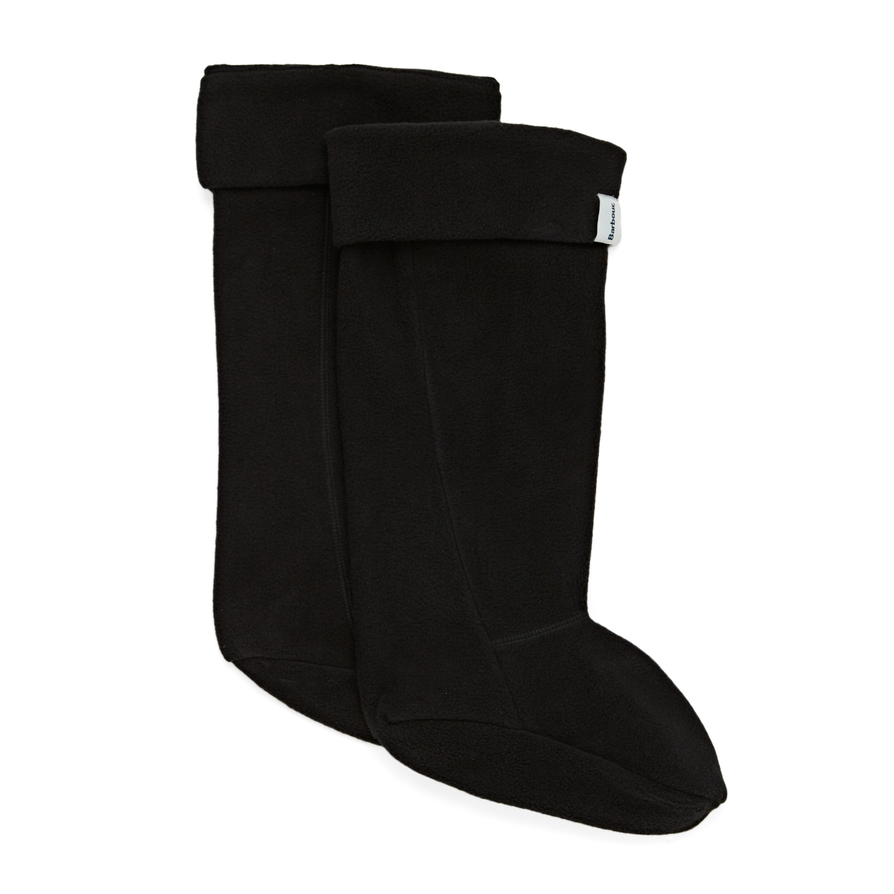 Barbour Fleece Wellington Socks - Black