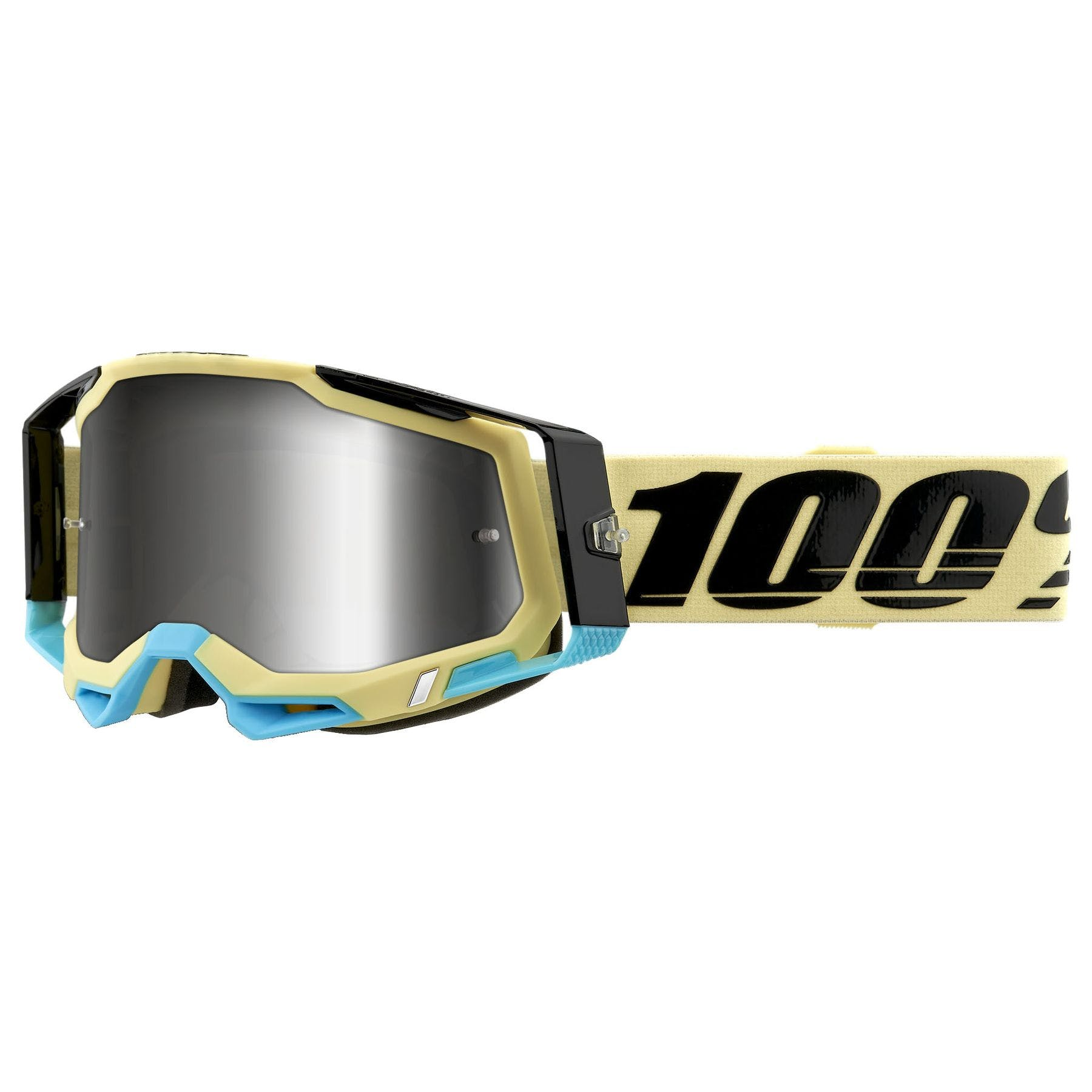 Oxford Replacement Blue Tint Tear Off Lens For Assalt Pro Motocross MX Goggles