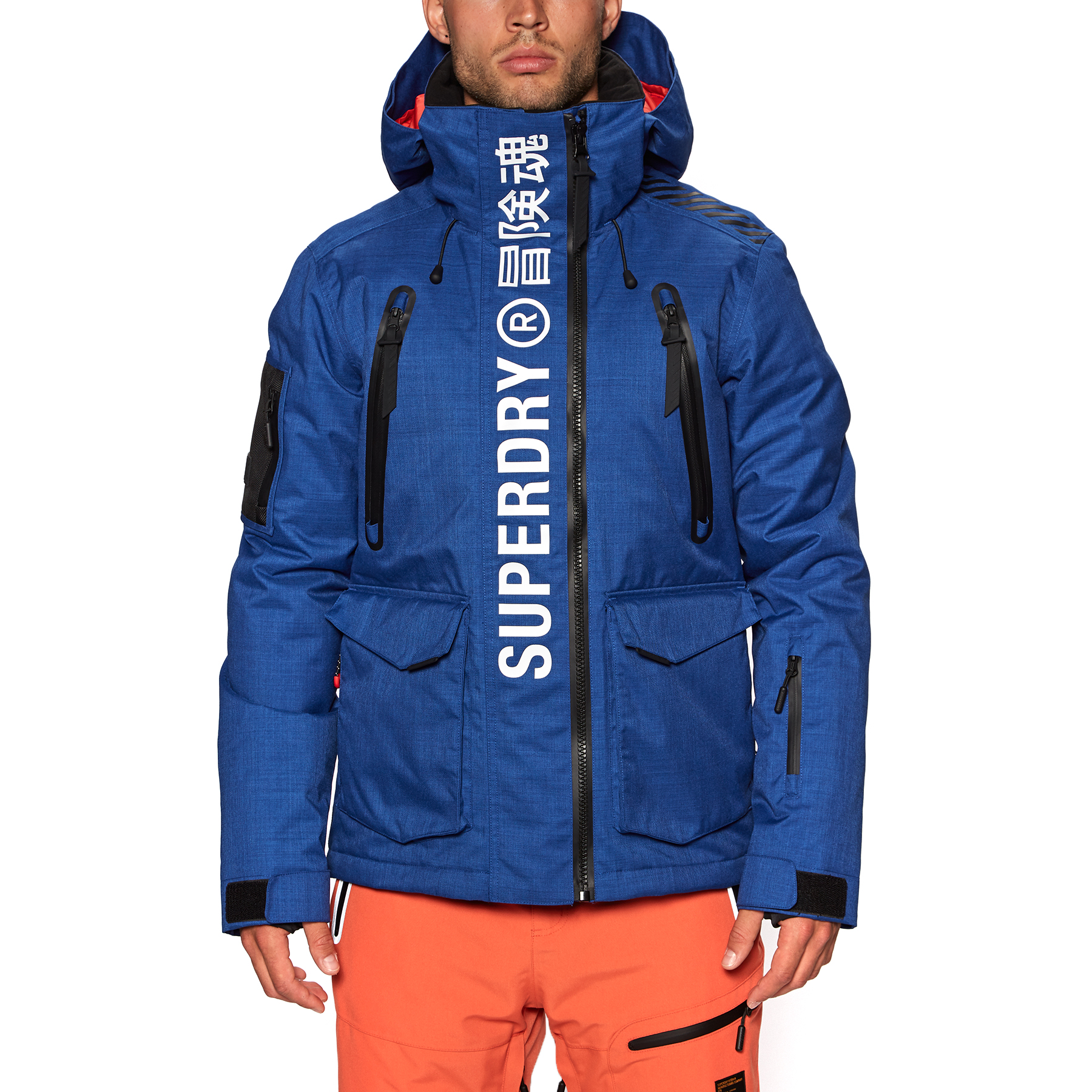 Superdry Ultimate Mountain Rescue Mens Jacket Snowboard Mazarine Blue Ebay