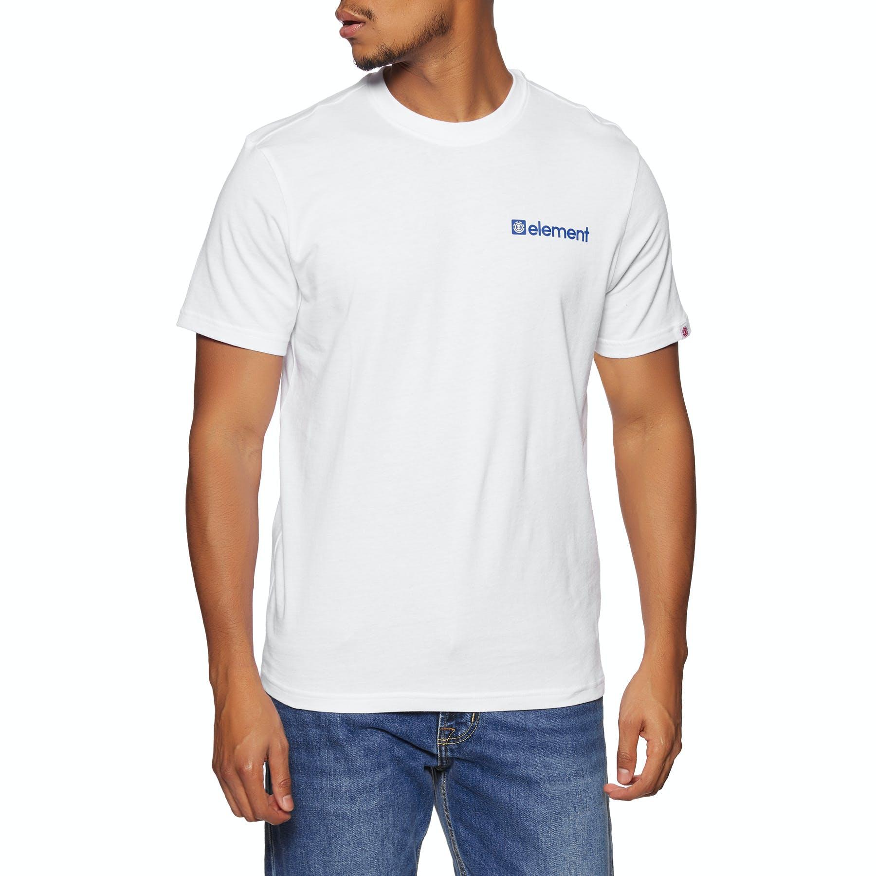 Element Mizu Short Sleeve T-Shirt in Optic White