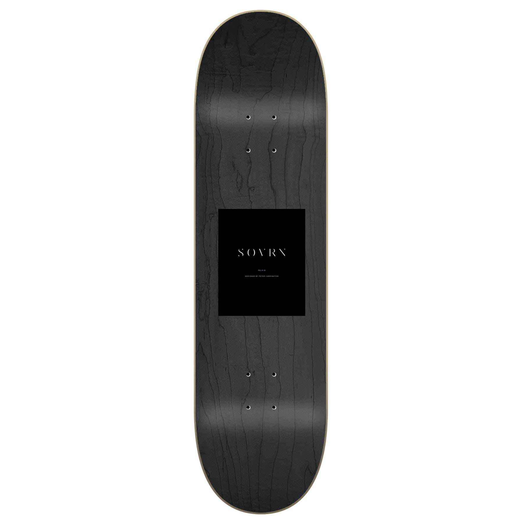 Multicolour All Sizes Sovrn Felis Skateboard Part Deck