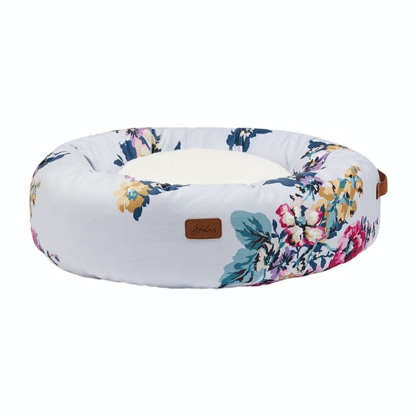 Joules Doughnut Pet Bed Cambridge Floral Country Attire Us