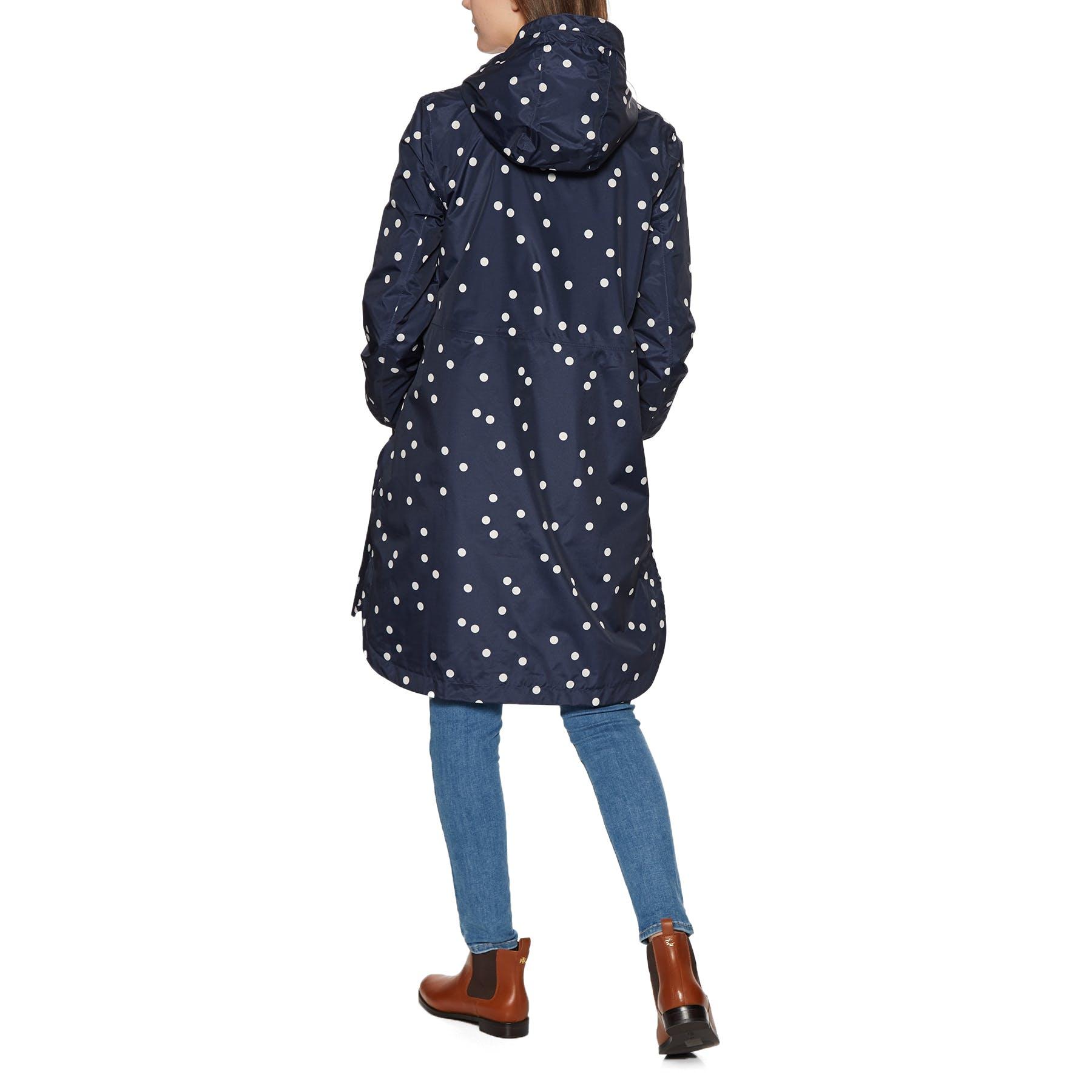 Joules Waybridge Veste Femme Imperméable-Bleu Marine SPOT Toutes Tailles