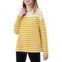 Cream Gold Stripe
