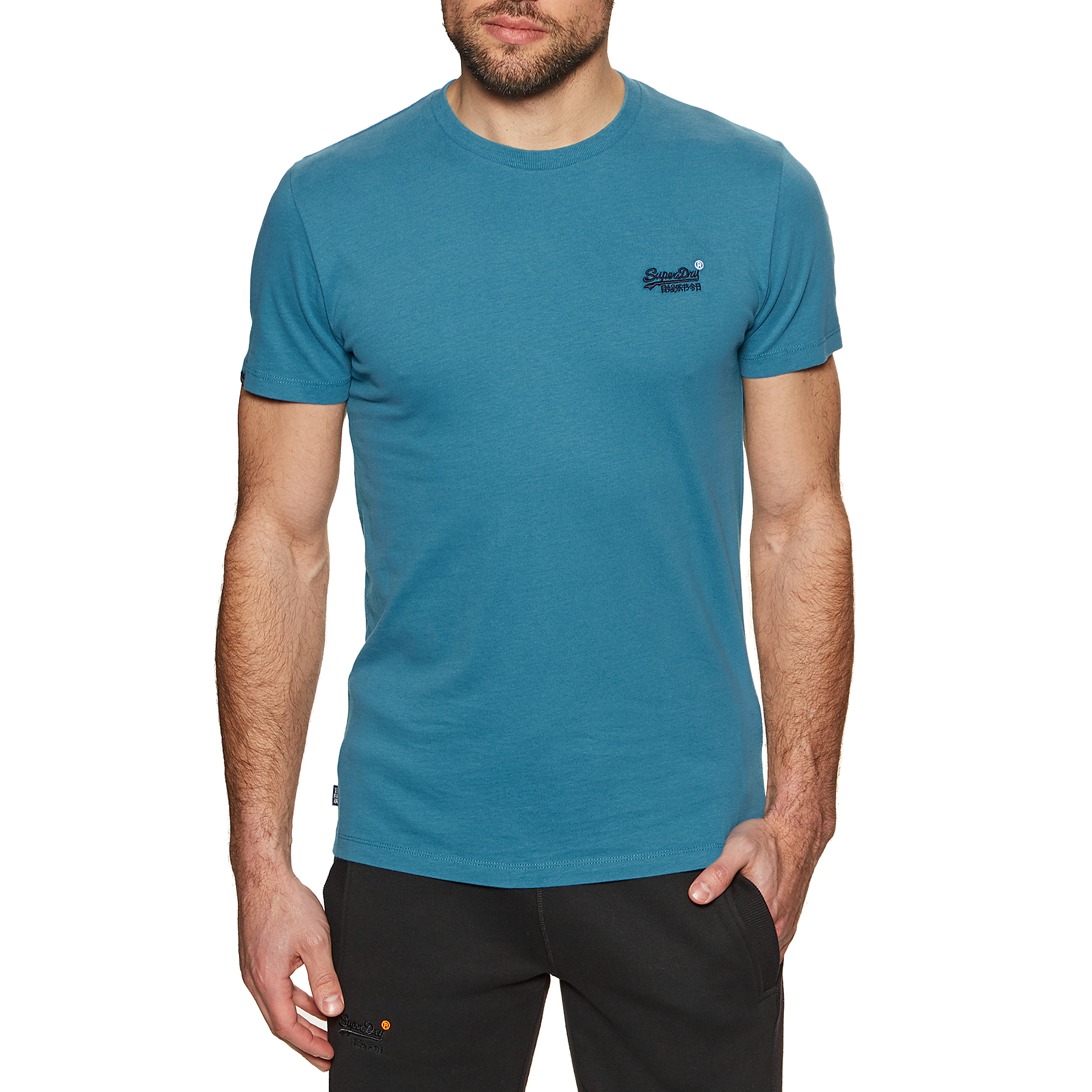 T-Shirt a Manica Corta Superdry Ol Vintage Embroidery disponibile ...